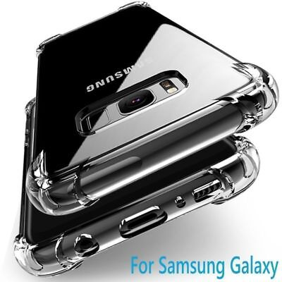 $ CDN2.84 • Buy For Samsung Galaxy S20 5G S10 Note 10 A51 A71 A91 81 Clear Shockproof Cover Case
