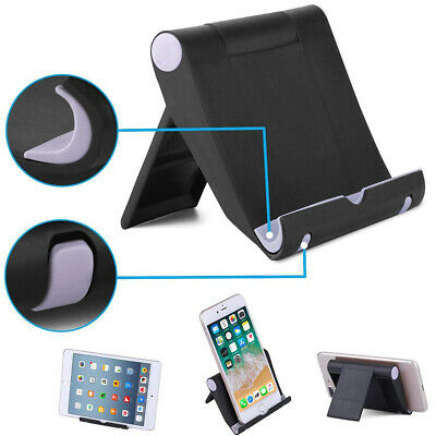 $4.29 • Buy Foldable Cell Phone Desk Stand Holder Mount Cradle For IPhone Samsung Tablet USA