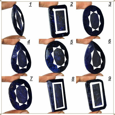 AU29.53 • Buy Selection Of 9 Large Midnight-Blue Natural African Sapphire Gemstones