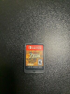 $43 • Buy The Legend Of Zelda: Breath Of The Wild (Nintendo Switch, 2017) (Game Only)