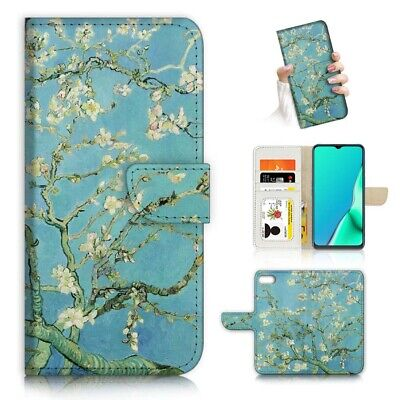 AU12.99 • Buy ( For IPhone 8 Plus ) Wallet Flip Case Cover PB23209 Blossoming Tree Van Gogh