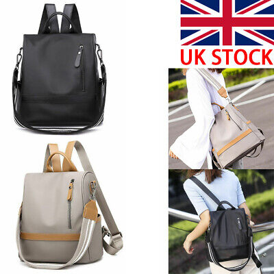 Women Anti-theft Waterproof Faux Leather Backpack Travel Rucksack Shoulder Bags • 8.95£