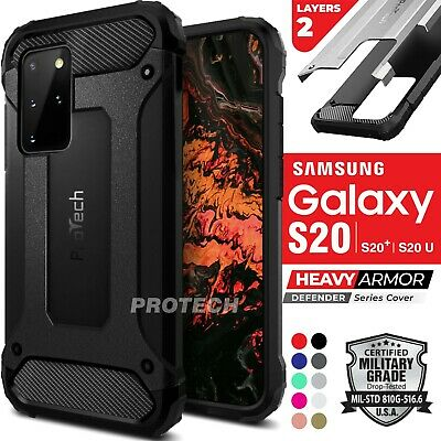 AU14.35 • Buy Samsung Galaxy S21 / S20 FE Plus Ultra Note 20 Case SHOCKPROOF Rugged Slim Cover