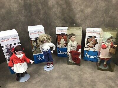 $49.99 • Buy Lot Of 4 Norman Rockwell Rumpleseat Dolls Anne, Davey,nell , Tina