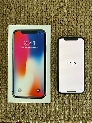 AU465 • Buy Apple IPhone X - 256GB - Space Grey (Unlocked) A1865 (CDMA + GSM) (AU Stock)
