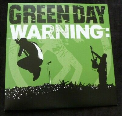 GREEN DAY 7  Warning   LIMITED EDITION US ORANGE VINYL 7  • 19.99£