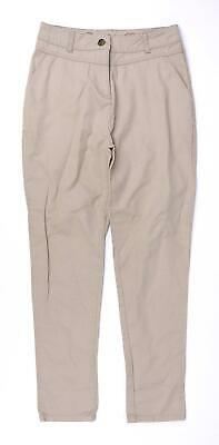 £7 • Buy Denim Co Girls Beige Chinos Trousers Age 11-12