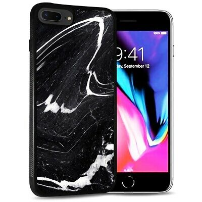 AU9.99 • Buy ( For IPhone 6 / 6S ) Back Case Cover PB12588 Black Marble