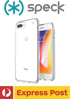AU59.67 • Buy IPhone 8+/ 7+/ 6+/ 6s+ Plus SPECK Presidio Clear Protection ShockProof Slim Case