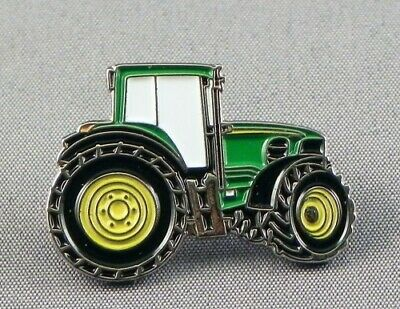 Green Tractor Vehicle Enamel Pin Badge - New • 3.29£