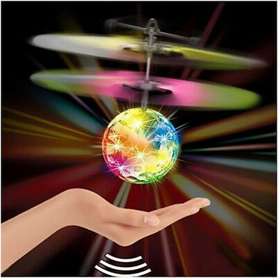 AU15.47 • Buy  Toys For Girls 3 4 5 6 7 8 9 10 Year Old Flying Ball Mini Drone Light Up Gift