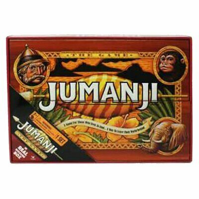 AU50.73 • Buy Jumanji The Game In Real Wooden Box