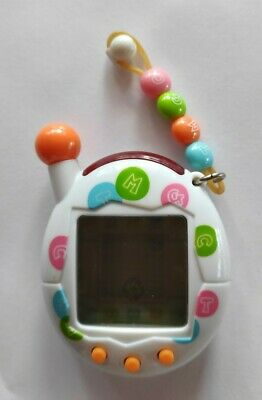 AU32 • Buy Cute White With Beads BANDAI TAMAGOTCHI 2004 Excellent Condition