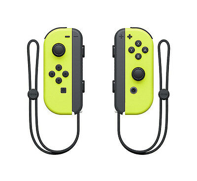 $56 • Buy Genuine Nintendo Switch - Joy-Con (L/R) Controllers - Neon Yellow - UD