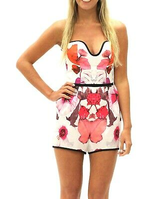 AU39.95 • Buy Alice McCall Women's Strapless Morganite Short Playsuit, Size 12