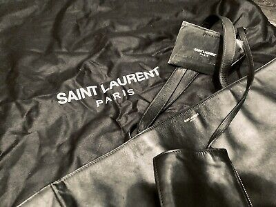 AU400 • Buy Junior Luxury - YSL Leather Reversible Shopping Tote