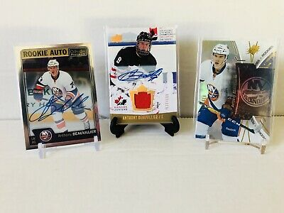 $ CDN5.99 • Buy Anthony Beauvillier Hockey Card Lot - 2 Autos ! New York Islanders
