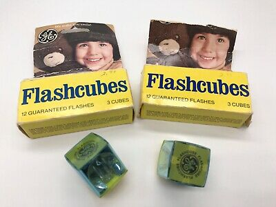 $8.75 • Buy 8 GE General Electric Camera Flashcubes (32 Flashes) - 6 Flash Cubes Are In Box