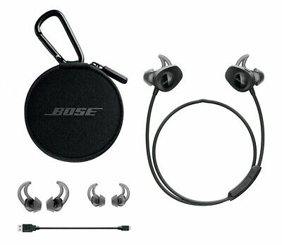 $ CDN76.12 • Buy Bose SoundSport Wireless In Ear Bluetooth Headphones NFC Bose Black / Blue