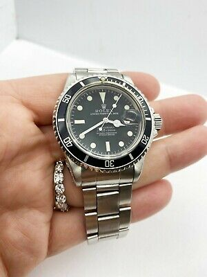 $ CDN14927.91 • Buy Vintage Rolex Submariner 1680 Stainless Steel 1973 Unpolished Matte Dial Mint