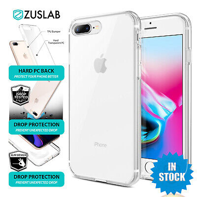 AU6.99 • Buy For IPhone 8 7 Plus 6 6S Plus 5 5S SE Case ZUSLAB Crystal Clear Shockproof