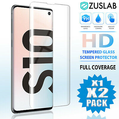 AU8.95 • Buy Galaxy S10 S9 S8 Plus S10e Note 9 8 Tempered Glass Screen Protector For Samsung