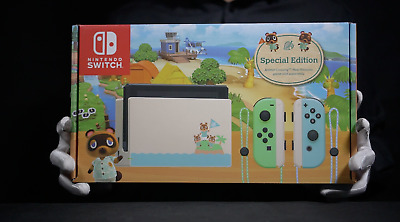 AU1399 • Buy Nintendo Switch Animal Crossing Limited Console Bundle Boxed - 'The Masked Man'