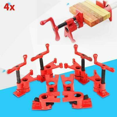 4X 3/4  Wood Gluing Pipe Clamp Set Heavy Duty PRO Woodworking Cast Iron Kits • 25.99£