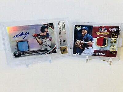 $ CDN9.99 • Buy Kolten Wong Baseball Card Lot - Gradded Jersey Card Auto & USA Patch /99