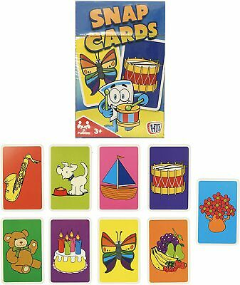 SNAP! PACK OF CARDS Card Games Playing Cards ~  Snap Kids Childs Fun… • 2.99£