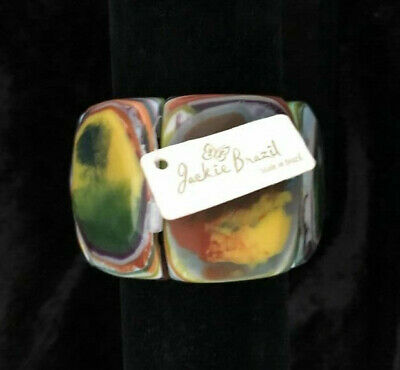 Stylish Jackie Brazil Sobral Expandable Bracelet Bangle New With Tags • 75£