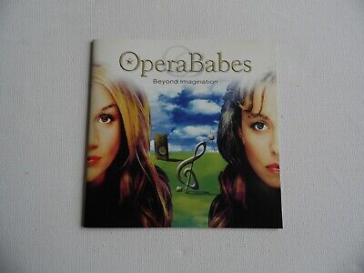 OperaBabes - Beyond Imagination - CD - 15 Tracks (3). • 2.15£