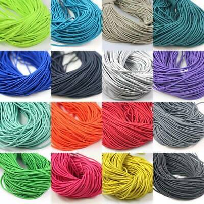 $ CDN2.73 • Buy 2.5mm ELASTICATED COLOURED CORD *20 COLOURS* ELASTIC CORDING FOR CRAFTS WSR