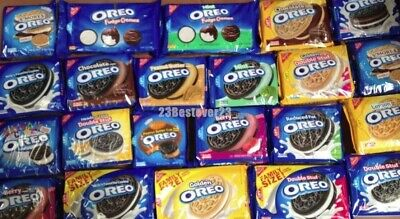 NABISCO OREO Cookie VARIETY Choose 1 MANY Limited Edition FLAVORS - FREE SHIP • 9.28£