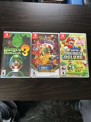 $120 • Buy 3 Nintendo Switch Lot Games!!