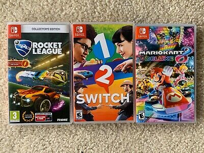 $60 • Buy Nintendo Switch Games Lot