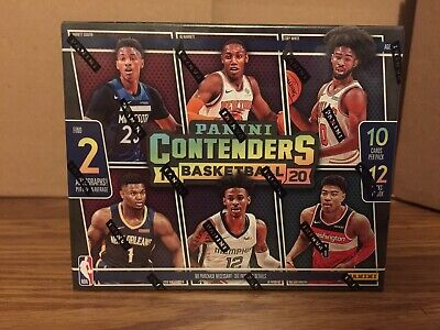 $223 • Buy 2019/20 Panini Contenders NBA Basketball Sealed Hobby Box. Zion Williamson? Ja?