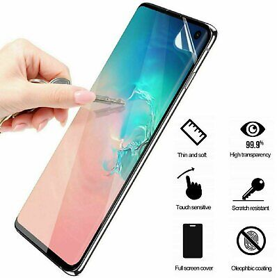 $ CDN2.41 • Buy Full Cover Screen Protector Film For Galaxy S8 S9 S10 S20 Plus Ultra Note 8 9 10