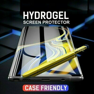 $ CDN3.73 • Buy HYDROGEL Screen Protector For Galaxy Note 8  9 10+ S8 S9 S10 S20 Ultra Plus 5G