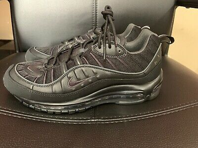 $99 • Buy Nike Air Max 98 All Black Mens 9 New Perfect Never Worn. The Best!!