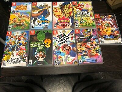 $326 • Buy Nintendo Switch Games Lot