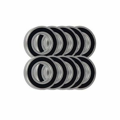 AU38.80 • Buy Pack Of 10 - Thin Section Rubber Sealed MTB Bike Ball Bearings - Choose Size