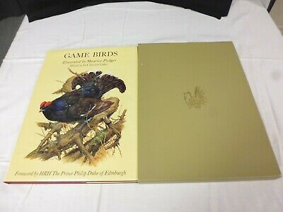 Game Bird, Large Boxed Book, Maurice Pledger, Charles Coles, Collins (TR) • 8.10£