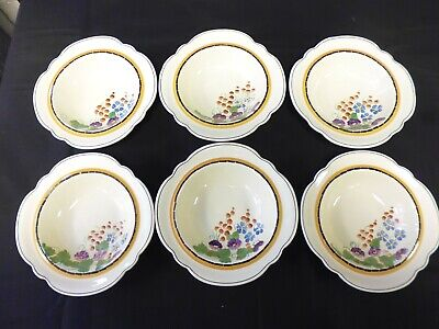 Ridgways Hand Painted Bedford Ware 6x Bowls (BA) • 8.70£
