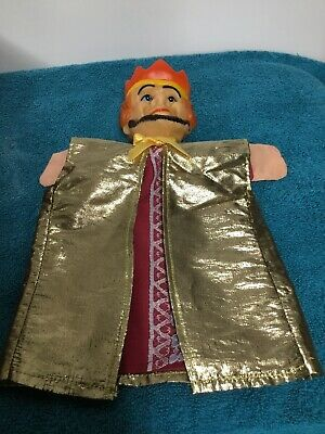$17.99 • Buy Vintage Hand Puppet Rubber Head King Mr Rogers Neighborhood Rodgers