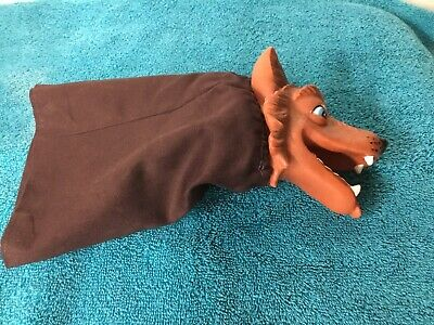 $17.99 • Buy Vintage Hand Puppet Rubber Head Wolf  Mr Rogers  Neighborhood
