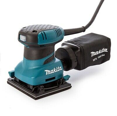 £120 • Buy Makita BO4556 Palm Sander With Abrasive Papers, Dust Bag & Punch Plate 110v