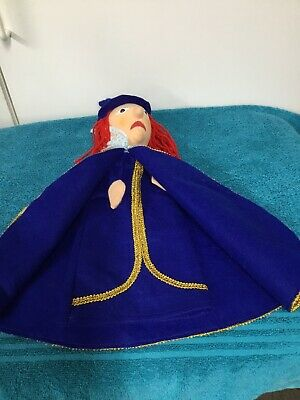 $17.99 • Buy Vintage Hand Puppet  Cloth Head Wizard Blue Cape Mr Rogers Neighborhood?