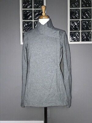 $ CDN62.40 • Buy Lululemon Coast Wrap Ii 6 8 Heathered Gray Wrap Jacket Slim Fit