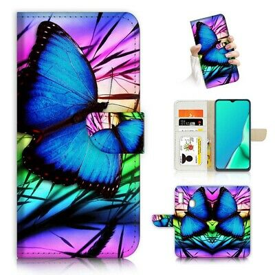 AU12.99 • Buy ( For Huawei Y7 2019 / Y7 Pro 2019 ) Case Cover PB23071 Blue Butterfly